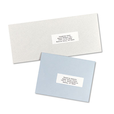 Avery copier mailing labels for Avery 5352 template