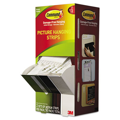 3M 17201CABPK Command Picture Hanging Strips