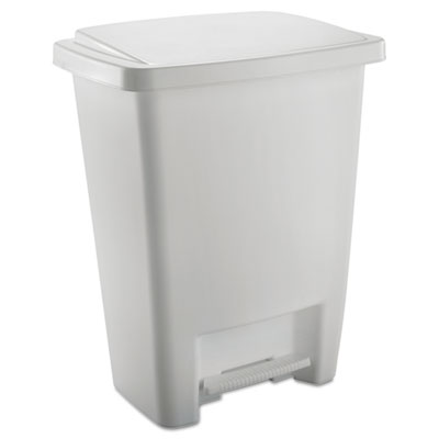Rubbermaid 284187WHICT Step-On Waste Can