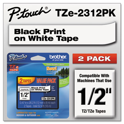 Brother TZE2312PK Labels