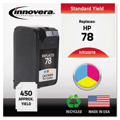 Innovera 20078 Tri-Color Ink Cartridge