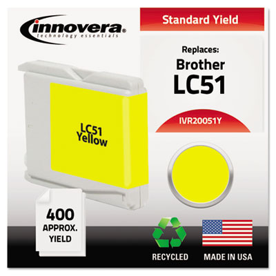 Innovera 20051Y Yellow Ink Cartridge