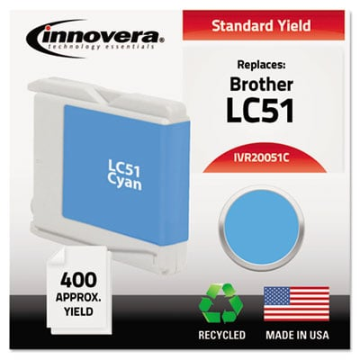 Innovera 20051C Cyan Ink Cartridge