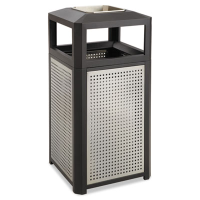 Safco 9933BL Evos Series Steel Waste Container