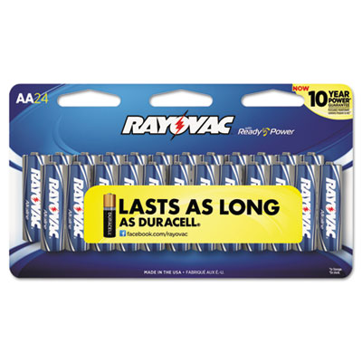 Ray-O-Vac 81524SCF Rayovac Alkaline Peggable Large Card Batteries