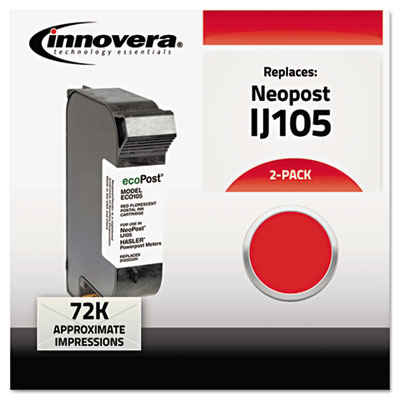 Innovera 105 Red Ink Cartridge