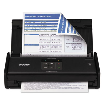 Brother ADS1000W ImageCenter ADS-1000W Wireless Compact Color Desktop Scanner