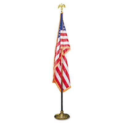 Advantus MBE031400 Deluxe U.S. Flag and Staff Set