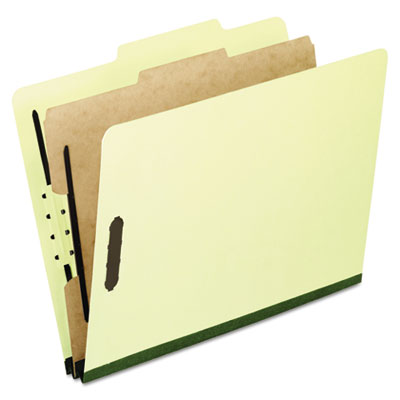 Pendaflex 1157G Four- Six- and Eight-Section Pressboard Classification Folders