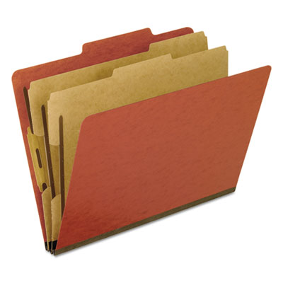 Pendaflex 1257R Four- Six- and Eight-Section Pressboard Classification Folders