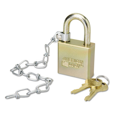 AbilityOne 5881010 SKILCRAFT Padlock With Attached Chain