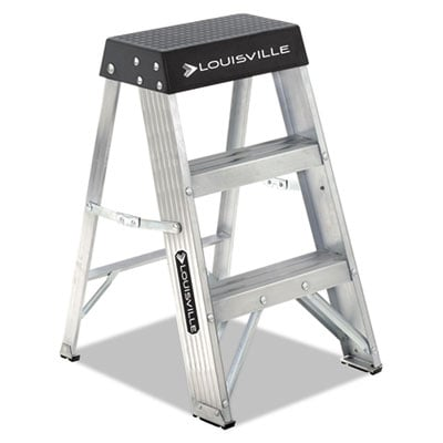 Louisville AS3002 Aluminum Folding Step Stand