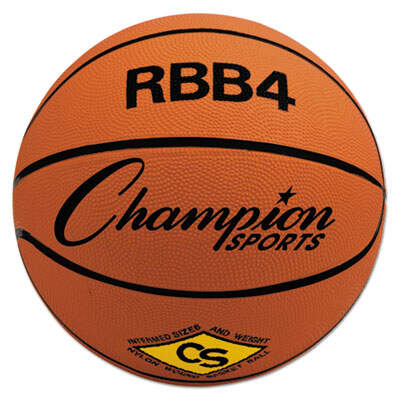 Champion Sports RBB4 Rubber Sports Ball