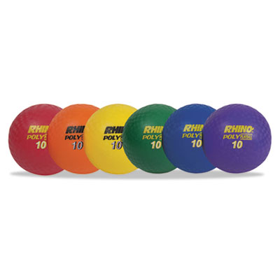 Champion Sports PX10SET Rhino Playground Ball Sets