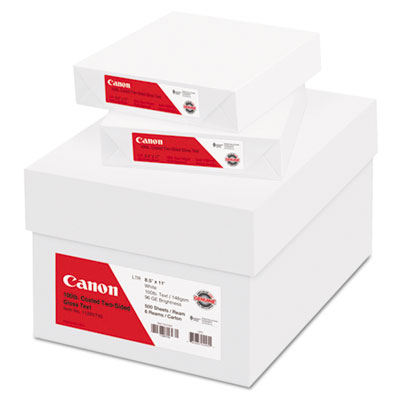Canon 1128V743 Coated Two-Sided Gloss Text Paper