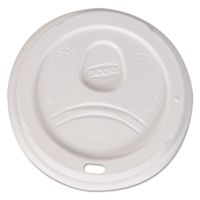 Dixie D9550CT Sip-Through Dome Hot Drink Lids