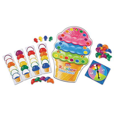 Learning Resources LER7411 Smart Snacks Rainbow Color Cones Game
