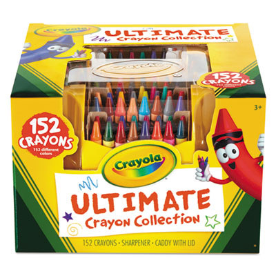 Binney &  Smith 520030 Crayola Ultimate Crayon Case