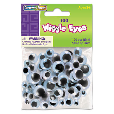 Xstamper 344602 Creativity Street Wiggle Eyes Assortment