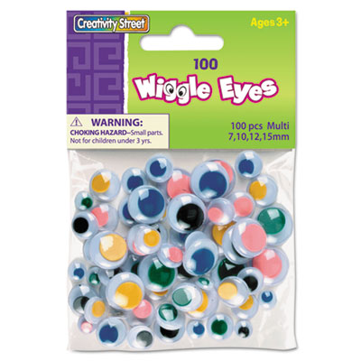 Xstamper 344601 Creativity Street Wiggle Eyes Assortment