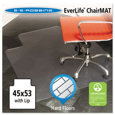 ES Robbins 132123 EverLife Chair Mat for Hard Floors