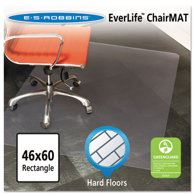 ES Robbins 132321 EverLife Chair Mat for Hard Floors