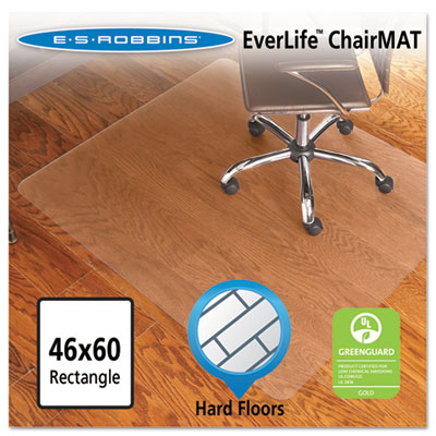 ES Robbins 131826 EverLife Chair Mat for Hard Floors