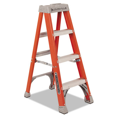 Louisville FS1504 Fiberglass Heavy Duty Step Ladder