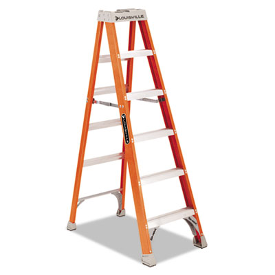 Louisville FS1506 Fiberglass Heavy Duty Step Ladder