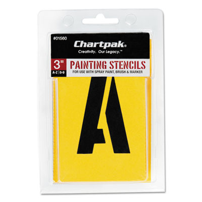 Chartpak 01560 Professional Lettering Stencils