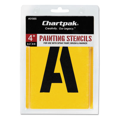 Chartpak 01565 Professional Lettering Stencils