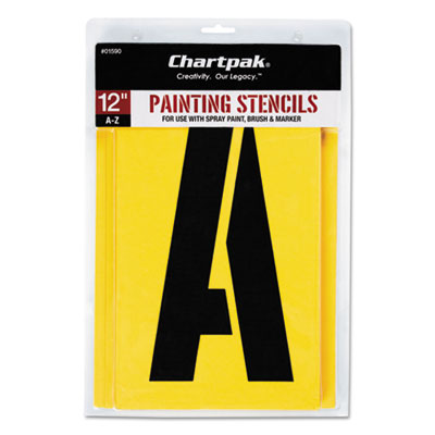 Chartpak 01590 Professional Lettering Stencils
