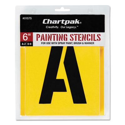 Chartpak 01575 Professional Lettering Stencils