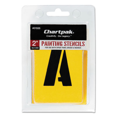 Chartpak 01555 Professional Lettering Stencils