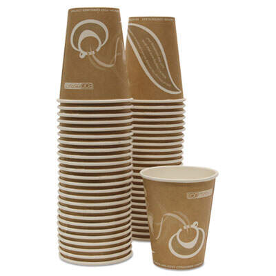 Eco-Products EPBRHC8EWPK Evolution World 24% PCF Hot Drink Cups