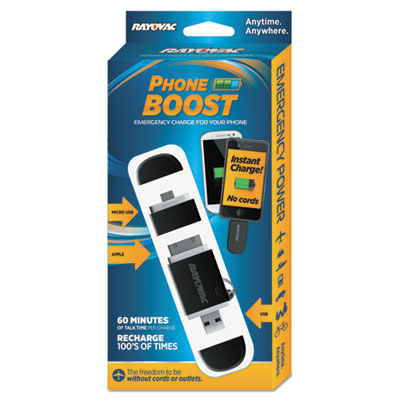 Rayovac PS68BK Phone Boost Key Chain Charger