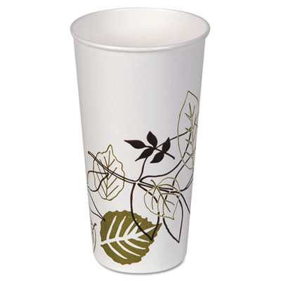 Dixie 22PPATH Pathways Polycoated Paper Cold Cups