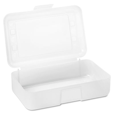 Advantus 34104 Clear Pencil Box
