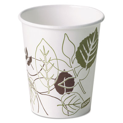 Dixie 2340PATHPK Pathways Paper Hot Cups
