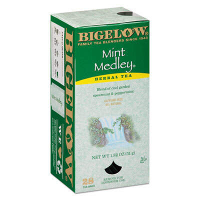 Bigelow 10393 Single Flavor Tea Bags