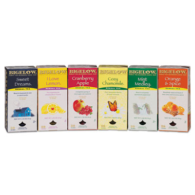 Bigelow 16578 Assorted Herbal Tea Bags