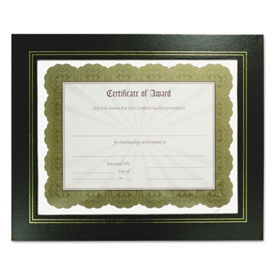 Nu-Dell 21202 NuDell Leather Grain Certificate Frame