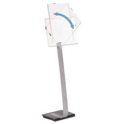 Durable 481523 Info Sign Duo Floor Stand
