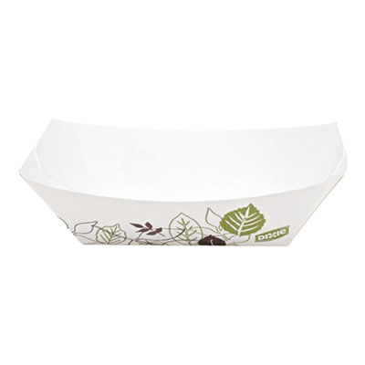 Dixie KL50PATH Kant Leek Polycoated Paper Food Tray