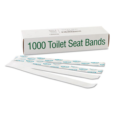 Bagcraft 300591 Sani/Shield Toilet Seat Bands