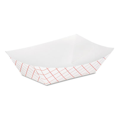 Dixie RP50 Kant Leek Polycoated Paper Food Tray