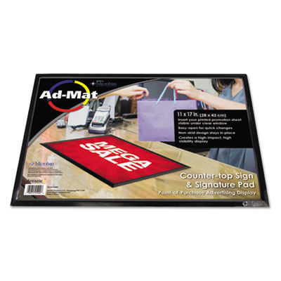 Artistic 25201 AdMat Counter Sign and Signature Pad