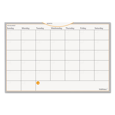 AT-A-GLANCE AW402028 WallMates Self-Adhesive Dry Erase Planning Surfaces
