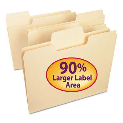 Smead Manufacturing 10301 Smead SuperTab Top Tab File Folders