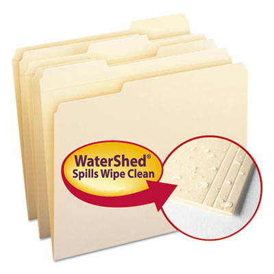 Smead Manufacturing 10314 Smead WaterShed Top Tab File Folders